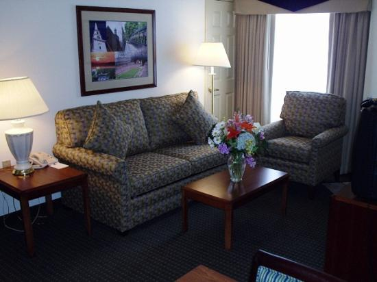 Residence Inn Boston Foxborough: suite