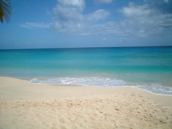 Galley Bay Resort & Spa - All Inclusive: calm sea from room 8 patio