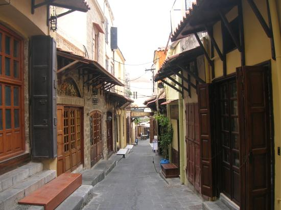 Ibiscus Hotel: old town