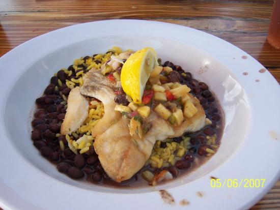 Island Fish Company: Carribean special ( grouper)