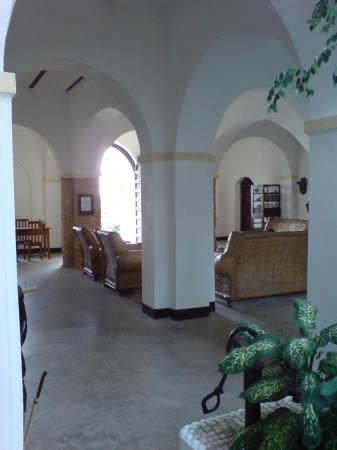 The Old Boma at Mikindani: Reception area