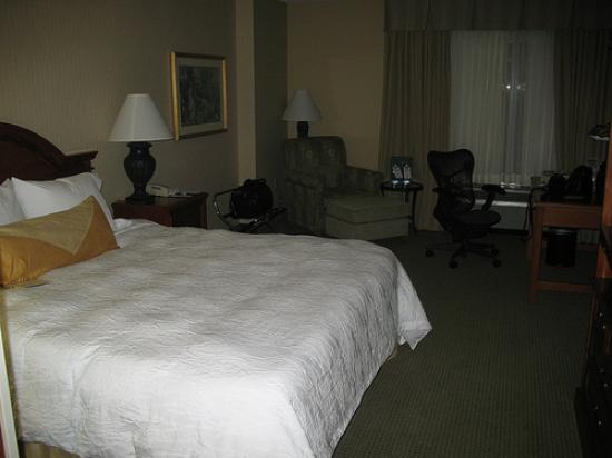 Hilton Garden Inn Portland/Lake Oswego: Our room at the Hilton Garden Inn, Lake Oswego Oregon