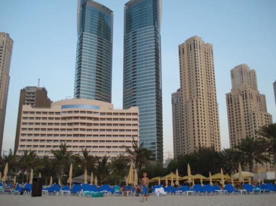 JA Oasis Beach Tower: Taken from the sea.