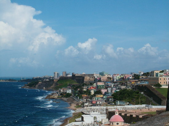 ‪سان خوان, ‪Puerto Rico‬: View of Old San Juan‬