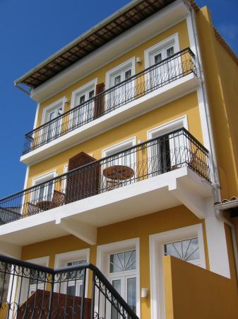 Hotel Casa do Amarelindo: hotel vue de la piscine
