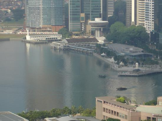 Conrad Centennial Singapore: the view from the executive lounge