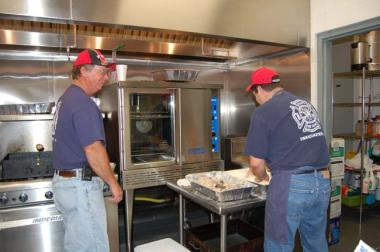 Fish fry Swan Quarter Fire house