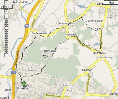 Erlangen Things To Do TripAdvisor - Erlangen map