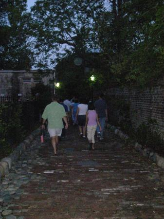 The Original Charleston Walks: Ghost orb over our tour group.
