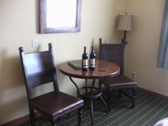 Bavarian Lodge: Sitting area