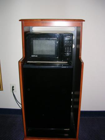 Holiday Inn Express & Suites High Point South: Microwave & Fridge