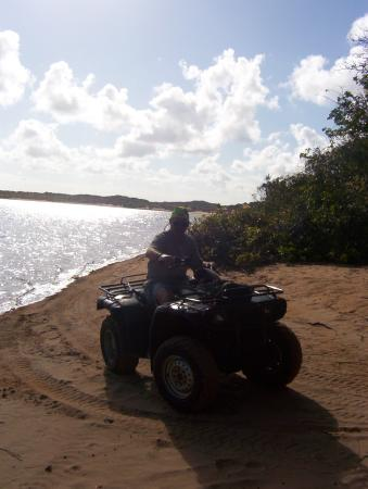 Natal, RN: Quad biking