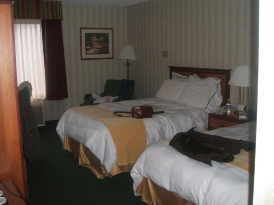 Radisson Hotel and Suites Chelmsford / Lowell: Bedroom