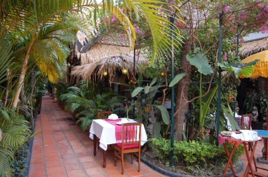 Bopha Siem Reap Boutique Hotel: Restaurant