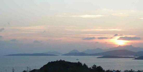 Aegean Gate Hotel: Sunset