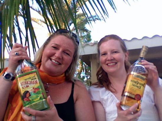 Coco Cabanas Loreto: Margaritas at Coco Cabanas