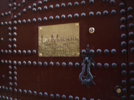 Restaurant La Maison de Marrakech : Entrée de la maison de Marrakech