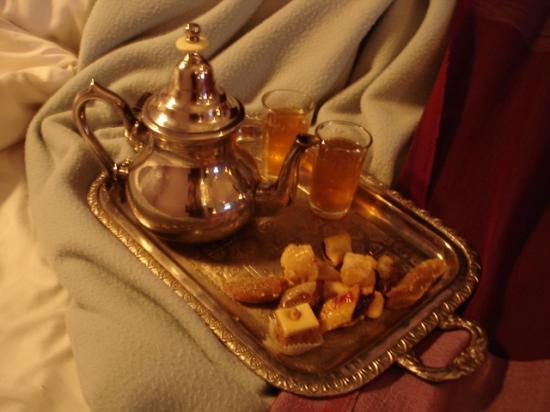 Restaurant La Maison de Marrakech: Duo de thé et pâtisseries