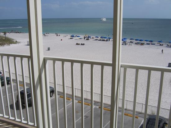 Beach Place Condos at John's Pass Village: view from our balcony