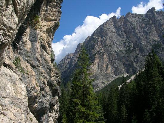 Menardi Hotel: Dolomite mountains
