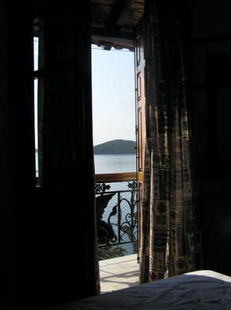 Hotel Villa Orsa: View from bed