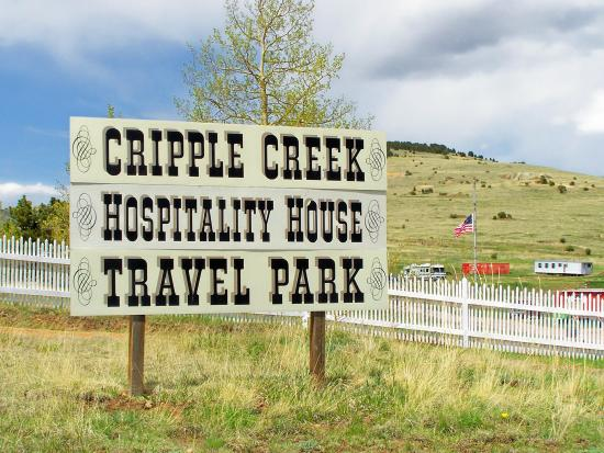 Cripple Creek Hospitality House & Travel Park: Welcome