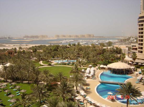 Le Royal Meridien Beach Resort & Spa: View from 5th floor tower