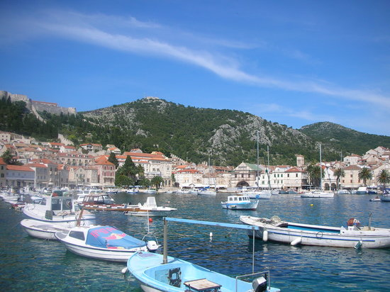 Хвар, Хорватия: Hvar Harbour - June 07