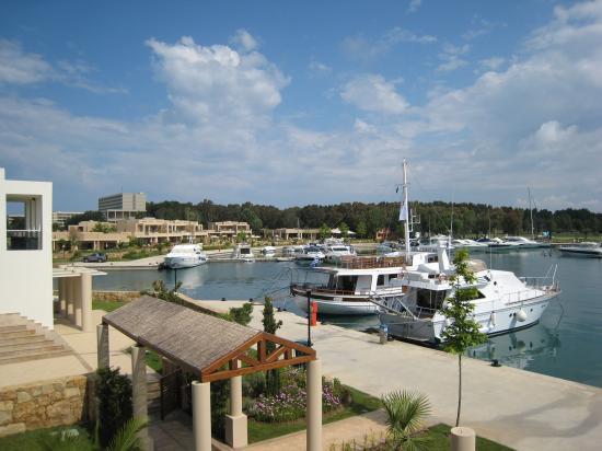 Porto Sani Village: View from Marina suite