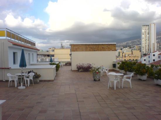 Hotel Marte: Terrace area