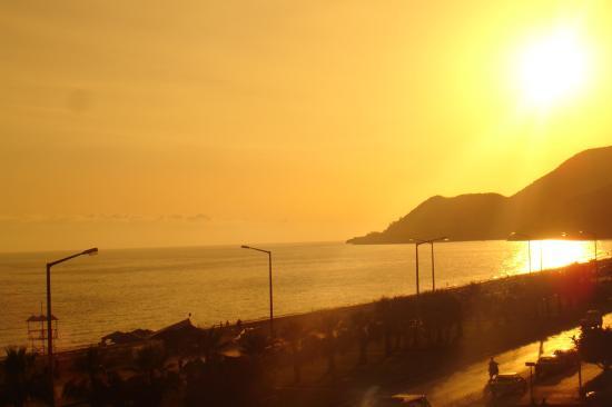 Kleopatra Beach Hotel: View from balcony