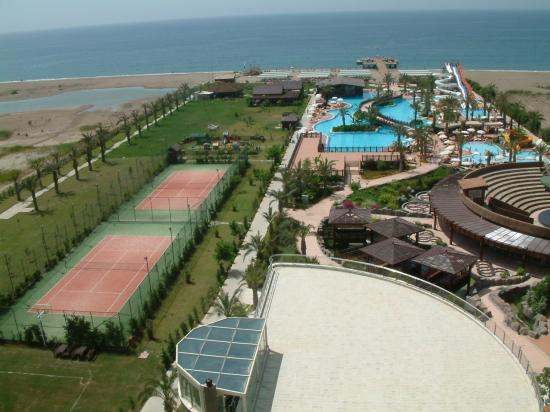 Liberty Hotels Lara: pools & sports courts & gardens
