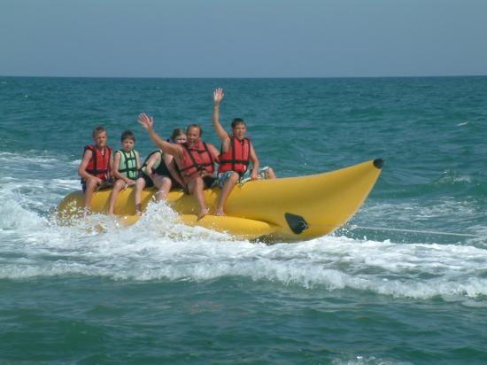 Liberty Hotels Lara: the banana boat