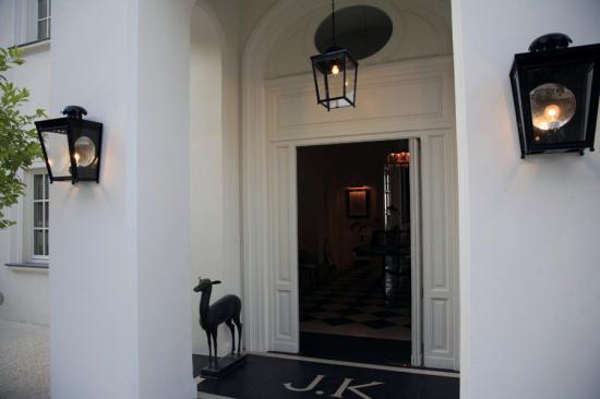 J.K.Place Capri: Hotel's Entrance