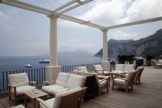 J.K.Place Capri: The Terrace