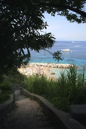 J.K.Place Capri: Private, direct access to the beach