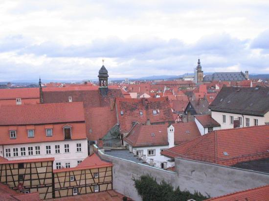 Red rooftops of Bamberg