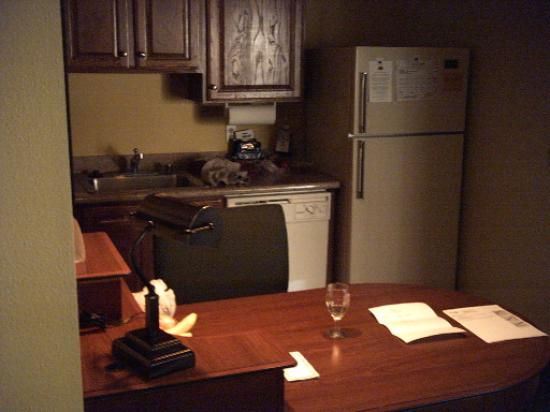 Residence Inn Portland North/Vancouver : Kitchen
