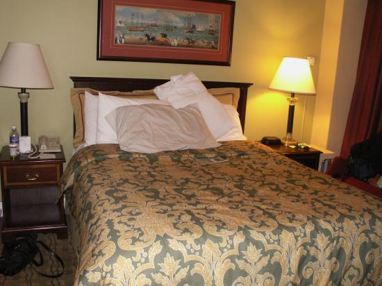 King George Hotel: Very small rooms