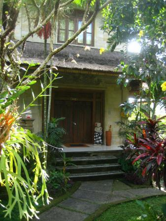 Alam Jiwa: Entrance to our villa