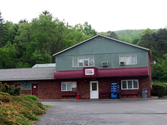 Econo Lodge Hornell: The front office