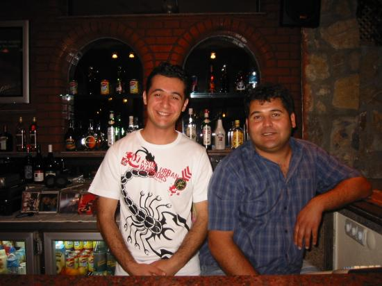 Belcehan Delux: Rambo (the barman) is the one on the right!