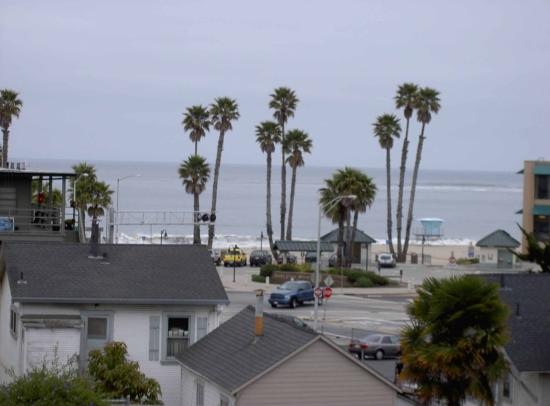Beach View Inn Motel: Veiw from 214