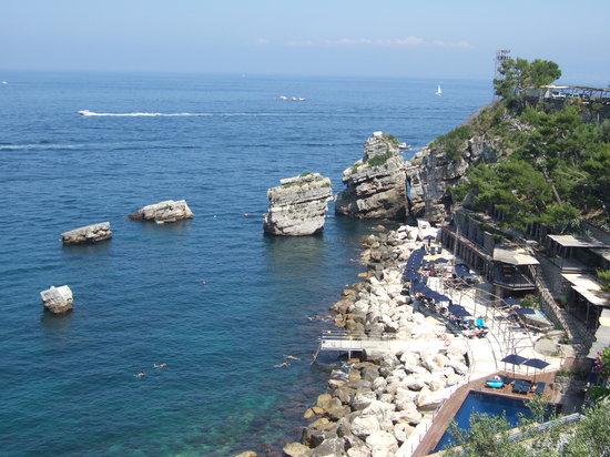 Vico Equense, Italia: Une autre vue en plongée