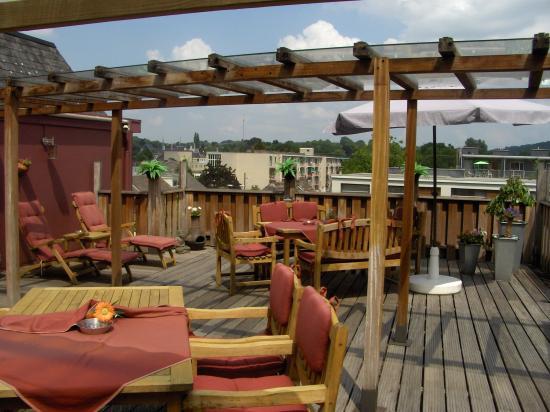 Hotel Atlanta: Roof terrace