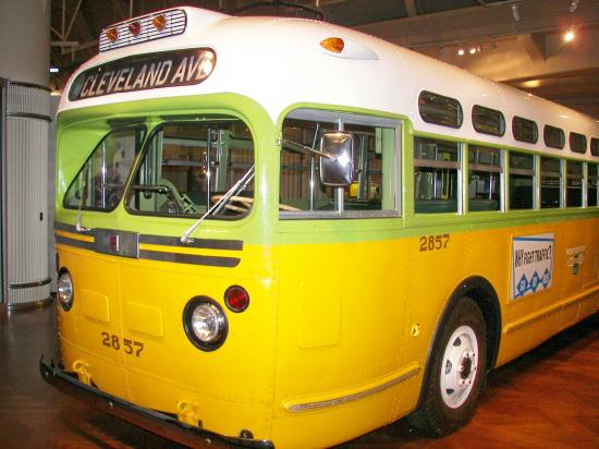 The Rosa Parks Bus From Montgomery Alabama Picture Of