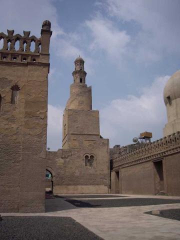 Ibn Toloun walls and minarete