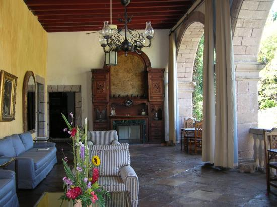 Hacienda San Gabriel de las Palmas : Iguana Lounge