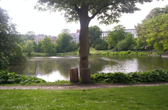 Copenhagen International B&B: The parc near by the pension
