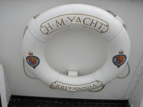 Royal Yacht Britannia: In case the Queen goes overboard
